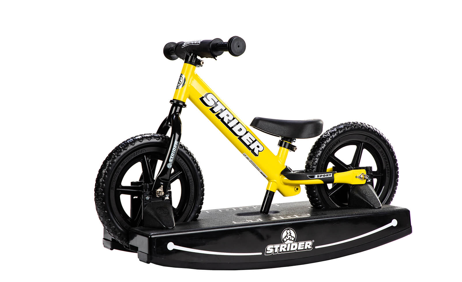 Strider 12 Sport Baby Bundle - Yellow
