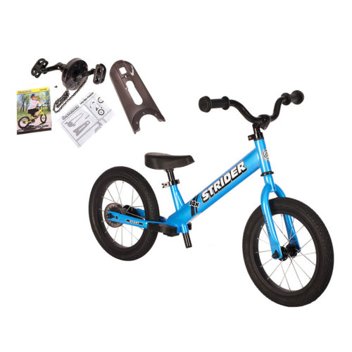 strider 14x balance bike and pedal kit