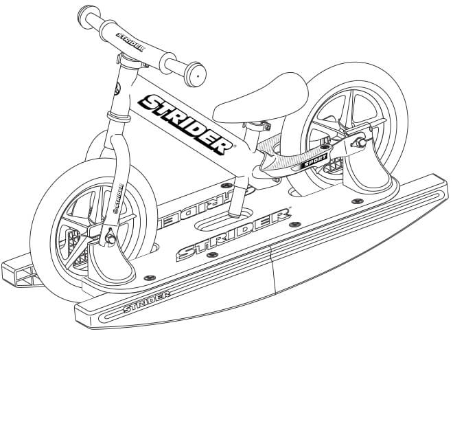 illustration Strider 12 Sport Baby Bundle full specs