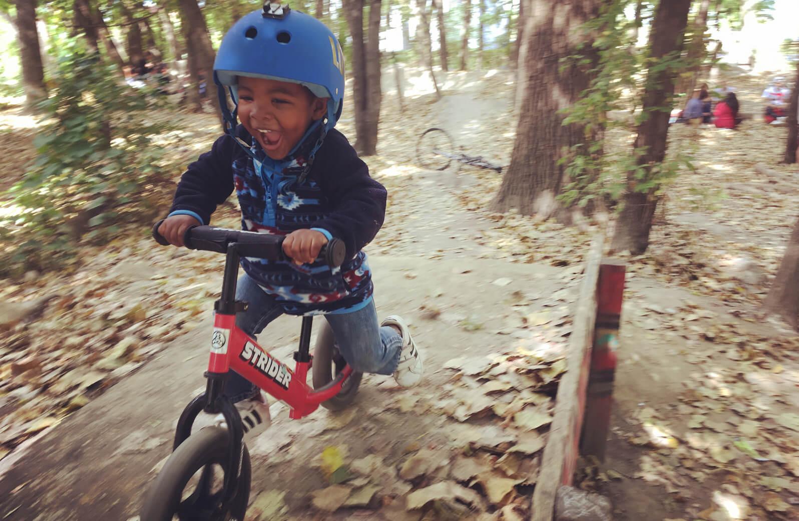 strider balance bikes be adventurous