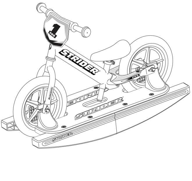 illustration Strider 12 Pro Baby Bundle full specs