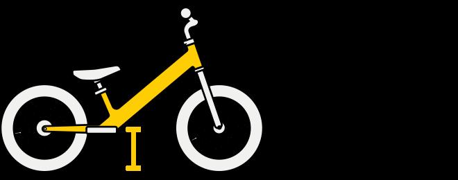Strider 14x center of gravity illustration
