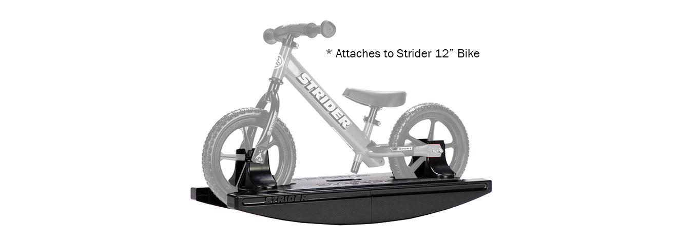 """Rocking Base attaches to Strider 12"""" Bike"""