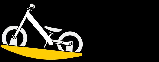 Strider Baby Bundle stable platform illustration