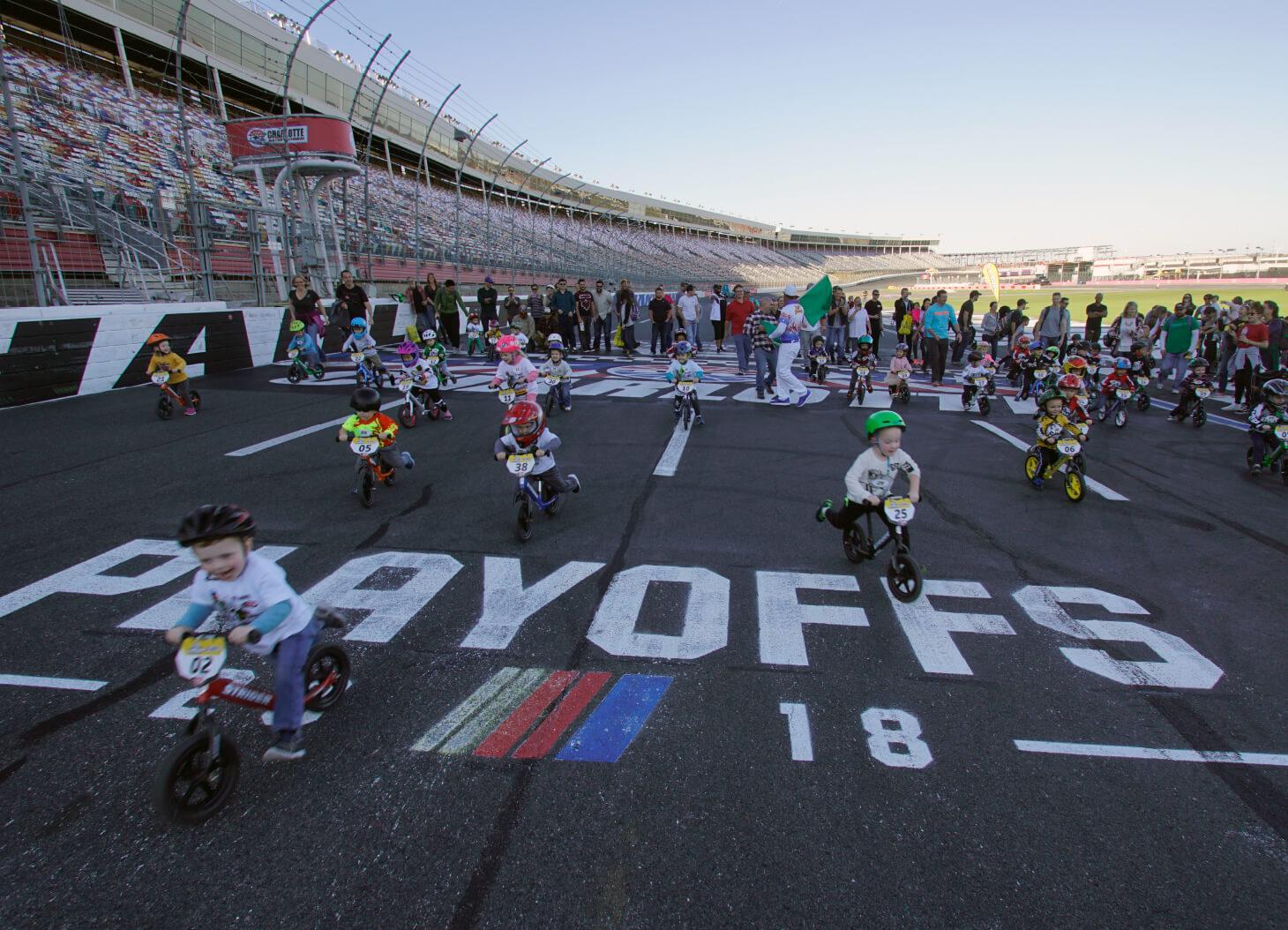 Strider Discovery Ride - Charlotte Motor Speedway