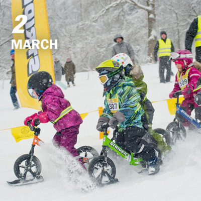 , Events – Buck Hill Results, Strider Balance Bikes
