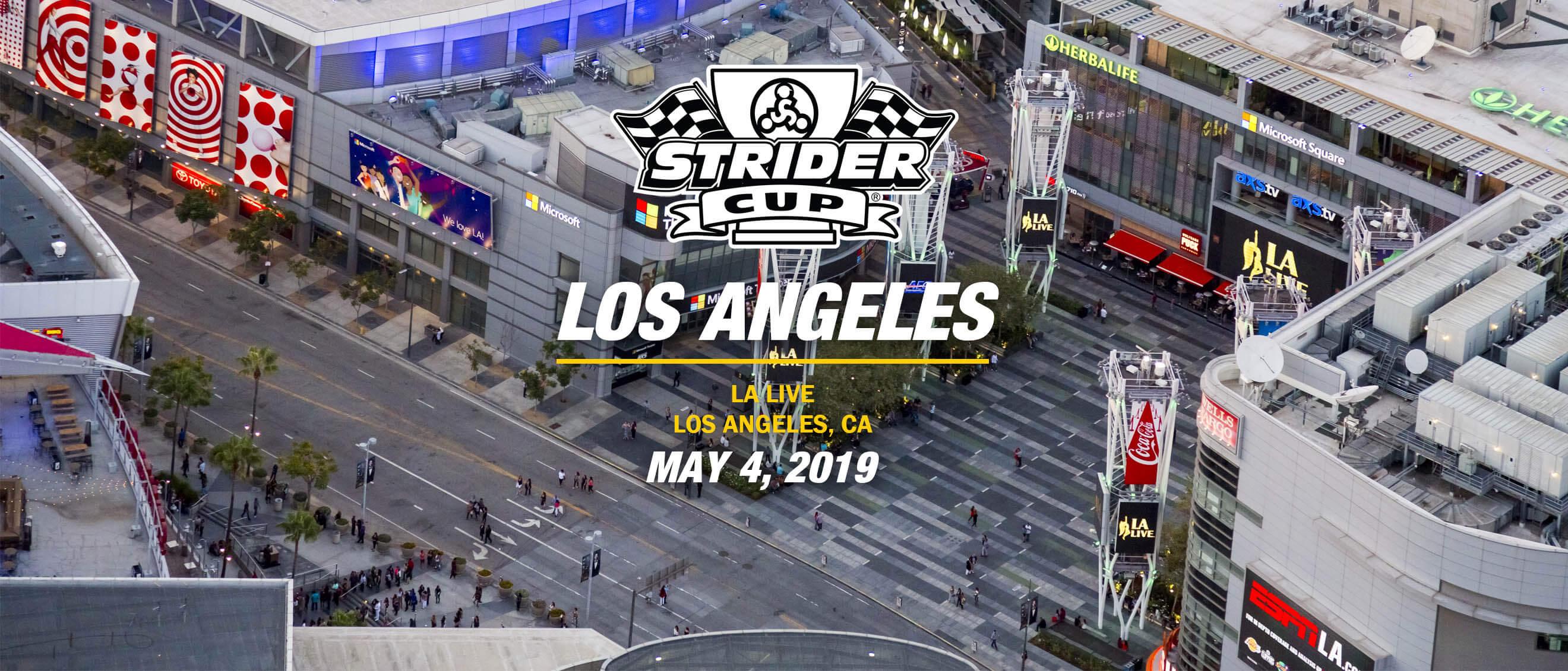 , Events – Los Angeles, Strider Balance Bikes