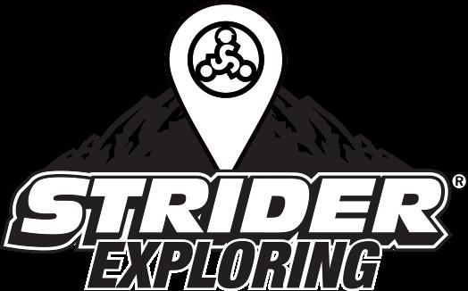 Strider Exploring Logo