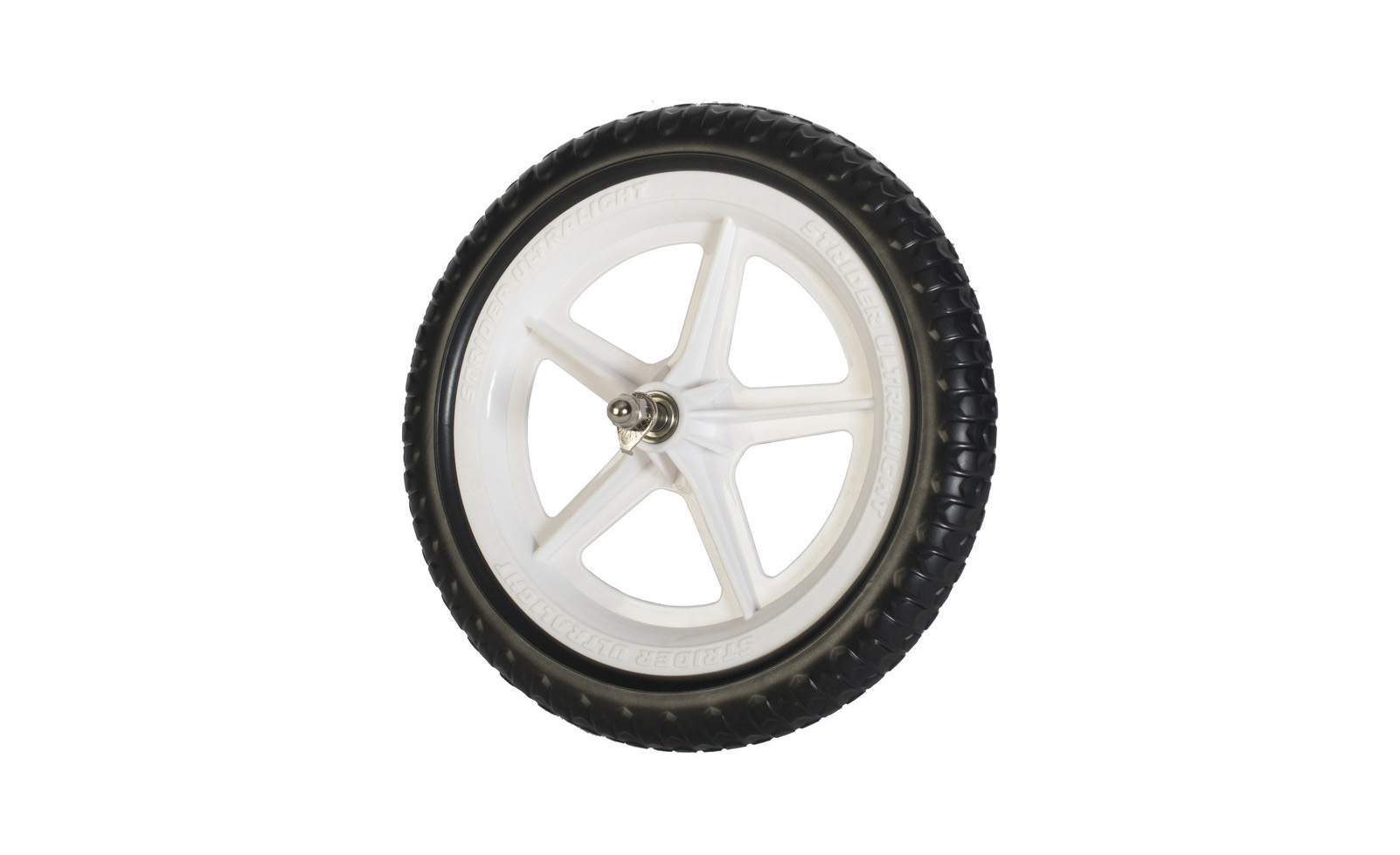 "Strider 12"" Ultra-light Wheel - White"