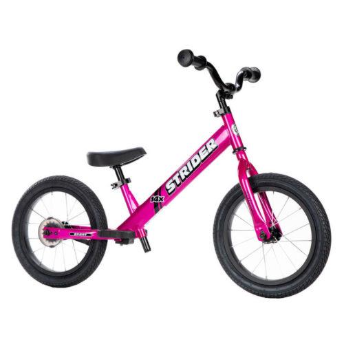 Strider 14x Sport Balance Bike - Fuchsia