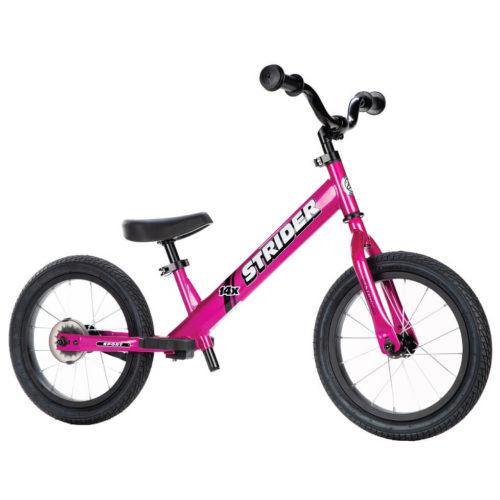 Strider 14x Fuchsia Balance Bike