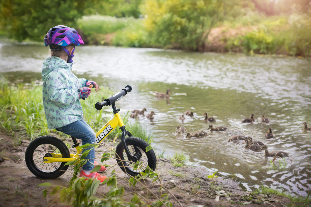 , 9 Ways to BE Together By Bike, Strider Balance Bikes