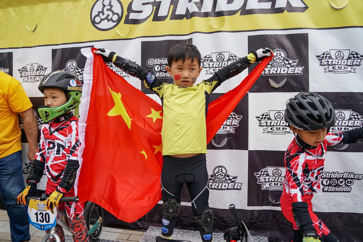 Racers from Asia, Europe, and North America Win at the 2019 Strider Cup World Championship