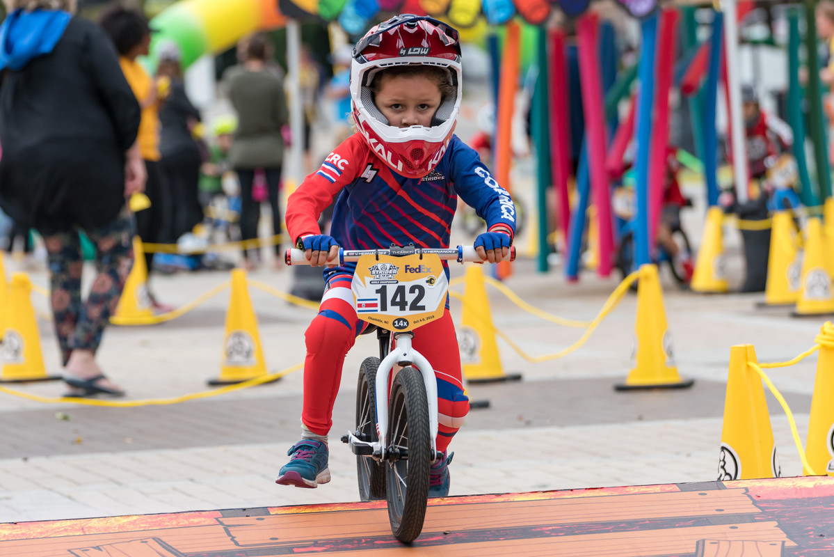 Toddlers Converge in Charlotte for the Strider Cup World Championship