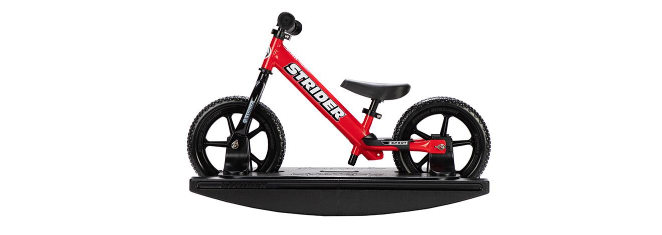 2-in-1 Rocking Bike Red Studio Image