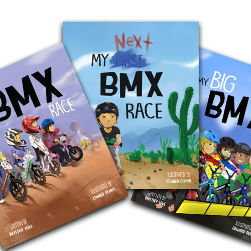My BMX Race Book Covers